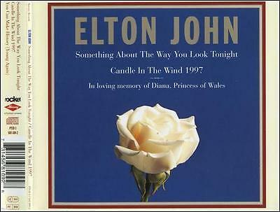 Elton John Something About the Way You Look Tonight CD Disc Only