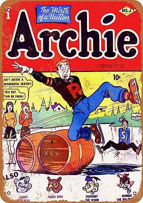 Metal Sign - Archie #1 - Vintage Look Reproduction