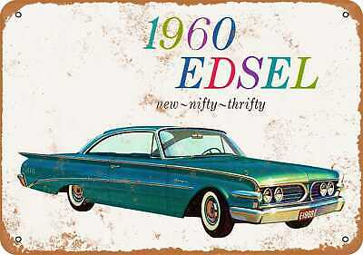 Vintage Look Reproduction Metal Sign 1960 Edsel Ranger