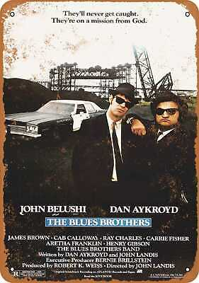 Metal Sign - 1980 The Blues Brothers - Vintage Look Reproduction