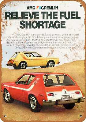Metal Sign - 1974 AMC Gremlin - Vintage Look Reproduction