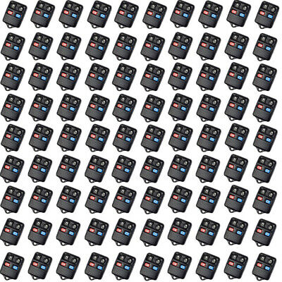 100PCS Replace Key Shell for Ford Lincoln Mercury Remote keyless Entry Fobs 4BT
