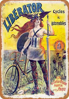 Metal Sign - 1903 Liberator Bicycles - Vintage Look Reproduction