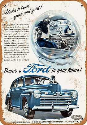 Metal Sign - 1946 Ford - Vintage Look Reproduction 3
