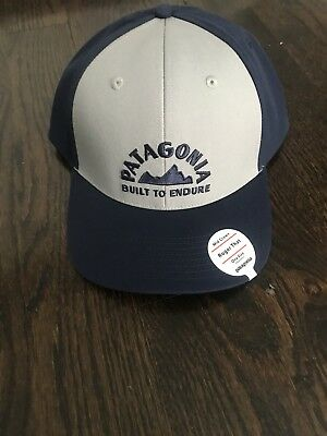 c6625af7423 NWT PATAGONIA MARCHING In Roger That Hat - Grecian Blue - Mid Crown ...