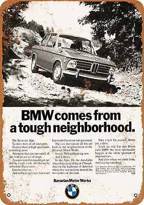 Metal Sign - 1970 BMW 2000 - Vintage Look Reproduction