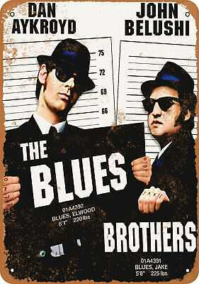Metal Sign - 1980 Blues Brothers Movie - Vintage Look Reproduction