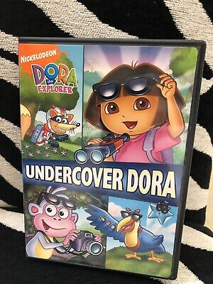 Dora the Explorer - Undercover Dora (DVD, 2008)
