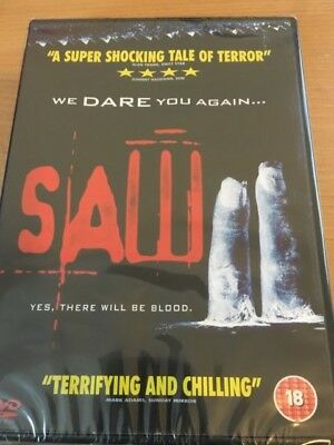 Saw 2 DVD (2006) Tobin Bell, Donnie Wahlberg - New and Sealed