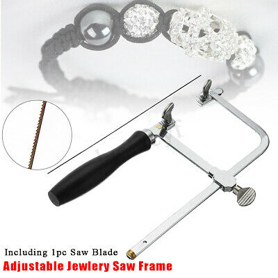 Adjustable Jewelry Saw Frame Blade DIY Jeweler Making Repair Tool Hand Craft