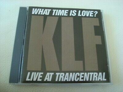 THE KLF – What Time Is Love Live at Trancentral CD (1990 Wax Trax Canada)