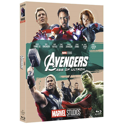 The Avengers Age Of Ultron - 10 Anniversario  [Blu-Ray Nuovo]
