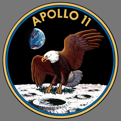 NASA Apollo 11 Military Armed Forces Vinyl Sticker Car Truck Window Decal Laptop