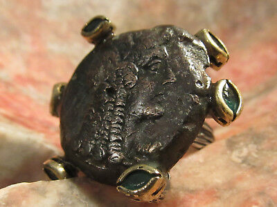 Authentic Ancient Cleopatra Womans / Mens Coin Ring!