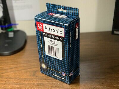 *NIB* *New* Altronix SMP10 Power Supply/Charger 12-24VDC 10A