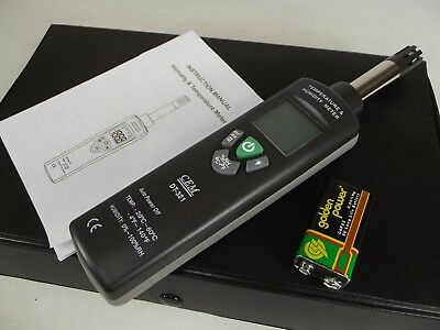 CEM DT-321 Digital Humidity Temperature Meter Dewpoint Wet Bulb Moisture Tester