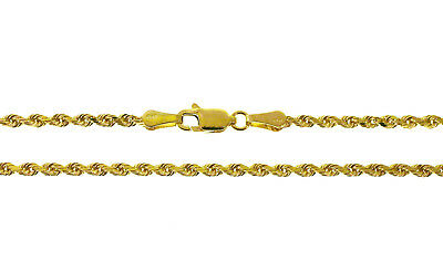 20 inches New 033-12 14K Solid Yellow Gold Box Chain 2.4 Grams 0.8 MM L