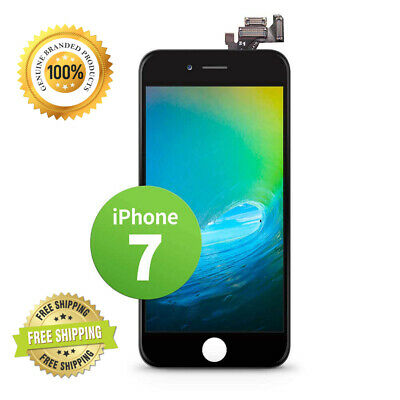 fa7b34edcbdd78 GIGA Fixxoo compatible with iPhone 7 Replacement Single Screen LCD no Kit;  Black