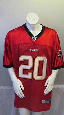 Tampa Bay Buccaneers Jersey - Ronde Barber   20 - NFL Official By Reebok -  SZ 489b877df