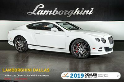2015 Bentley Continental GT Speed  PEED+NAV+RR CAM+CARBON FIBER+PIANO BLACK VENEER+SPEED EXHST+MULLINER