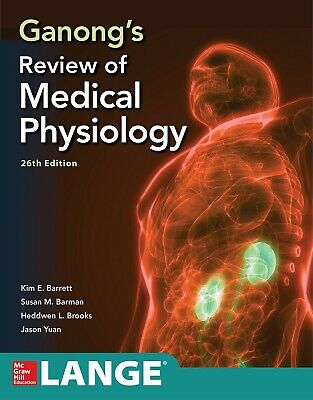 Ganong's Review of Medical Physiology, Paperback by Barrett (PDF EBOOK)