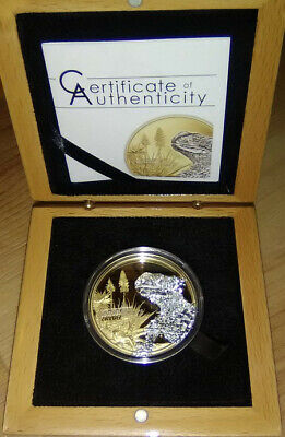 2018 Cook Islands $5 Shades Of Nature Lizard 1 Oz. Silver Coin FREE SHIPPING!!!