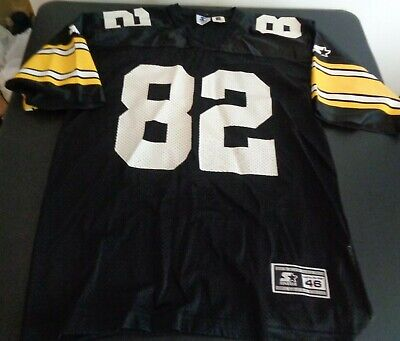 86d7e7f1096 YANCEY THIGPEN Pittsburgh STEELERS Vintage STARTER Replica 1995 Jersey  MEDIUM