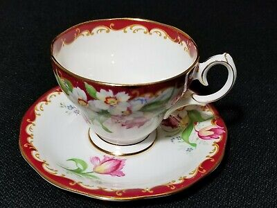 Narcissus Bell Fine Bone China Teacup & Saucer England