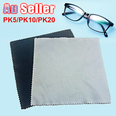 5-20X Cloths Cleaning Eye Screen Wipe Microfibre Glasses Lens Cleaner