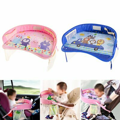 Kids Toddler Safety Car Seat Travel Snack Play Table Tray Drawing Board  IR