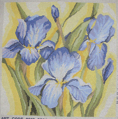 Iris Flowers – new Semco tapestry canvas