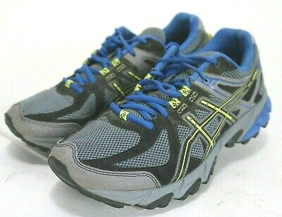 a6fc128ea8d ASICS GEL-SONOMA 2 $75 Mens Trail Running Shoes Sz 8.5 (4E) Extra Wide Grey  Blue