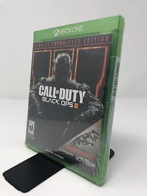 Call of Duty: Black Ops 3 III Zombie Chronicles Edition (Xbox One, 2017) New