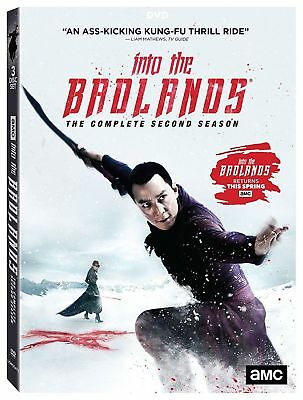 INTO THE BADLANDS: The Complete Second Season 2 DVD 2018 3-Disc Set NEW,SEALED!