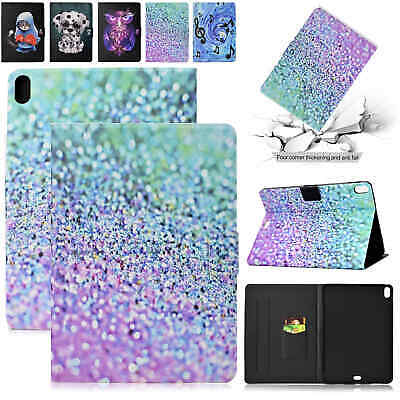 For iPad 9.7 2018 Air 2 5th Gen Mini Case Smart Magnetic Leather Flip Card Cover