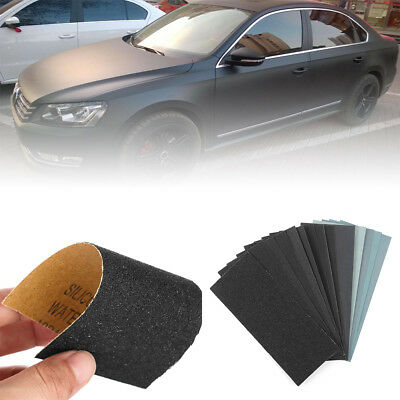 Wet And Dry Sandpaper Abrasive Sanding Paper Sheets 150-7000 Grit Car Paint AAA