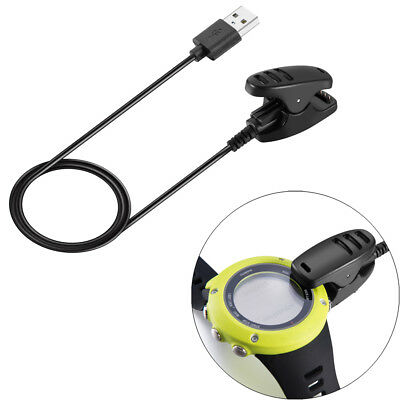 1M USB Data Charging Clip Charger Cable For SUUNTO TRAVERSE Kailash Ambit 1 2 3