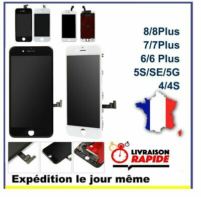 Ecran LCD +Vitre Tactile + Chassis iPhone 4/4S/5/5C/5S/6/6+/6S/6S+/7/7+/8/8+ AAA