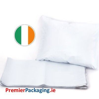 White Poly Mailer Mailing Bags - 305mm x 406mm