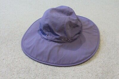 eb438c3fad732b Outdoor Research Solar Roller Sun Hat UPF 30 Women's Size Med Blue lilac  purple