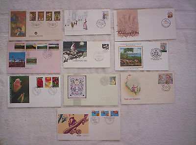10 x First Day Covers   Lot 4