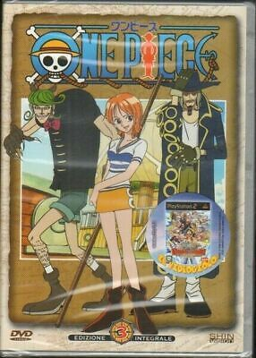 One Piece vol. 3 Edizione Integrale DVD ITA. Shin Vision