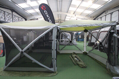 QUEST INSTANT SCREEN House 6 Pop Up Camping Outdoor Gazebo