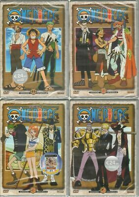 One Piece 4 volumi Edizione Integrale DVD ITA. Shin Vision