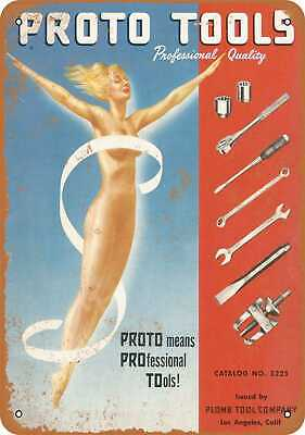 Metal Sign - 1952 Proto Professional Quality Tools - Vintage Look Reproduction