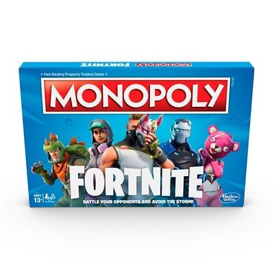 MONOPOLY FORTNITE New Unopened