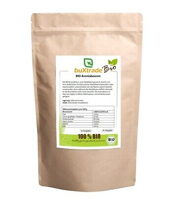 BIO Aronia Beere 500g - Frucht - Topping - Superfoods