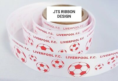 Chelsea Football Ribbon 25mm ideal for cakes and present wrap No 1 CHELSEA FAN