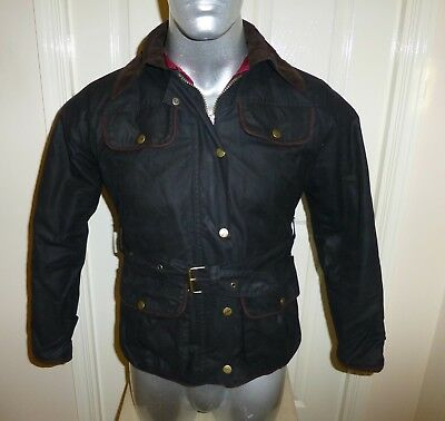 MASSIVE SAVINGS 50/% OFF Rydale Diamond Quilted Belted Women/'s Wax Jacket