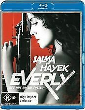 Everly Blu Ray - New & Sealed Salma Hayek, R Rated Action Thriller